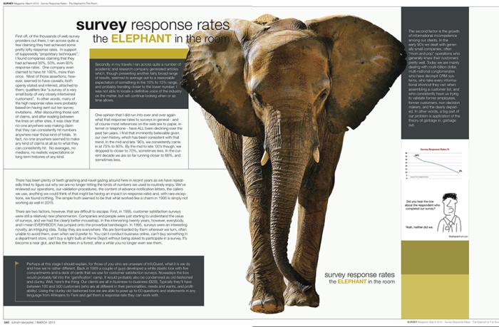 Survey non-response